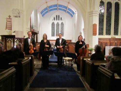 String Quartet Christmas Concert in Bedfordshire