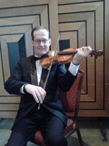Vaughan Jones Violin Teacher