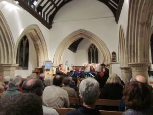 Manor House String Quartet concert at St Nicholas Church Cuddington
