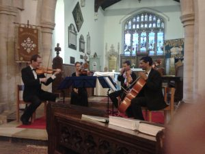 Manor House String Quartet Concert - Cranfield Church