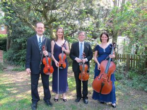 Wedding string quartet Manor House Music and Vaughan Jones