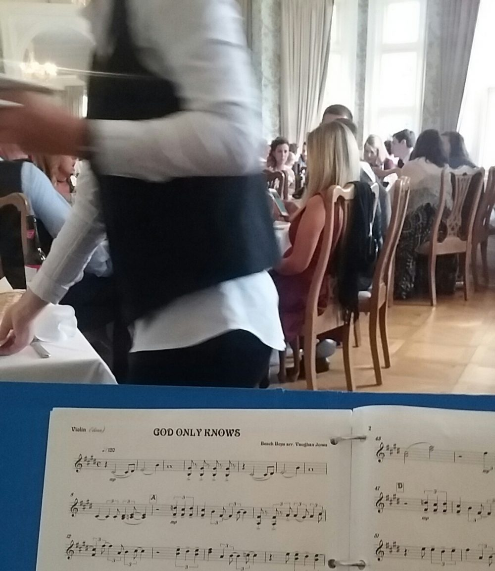 Manor House Music playing for a special occasion