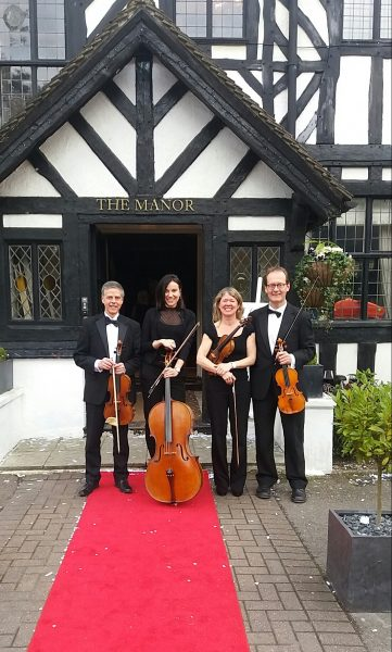the manor elstree string quartet