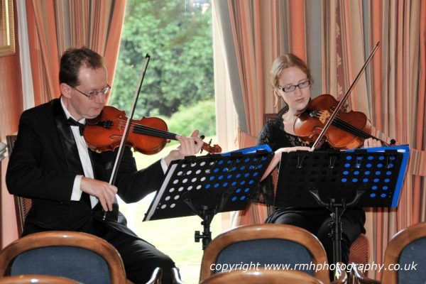 String duo for weddings in Buckinghamshire