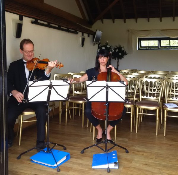 Milton Keynes wedding string duo