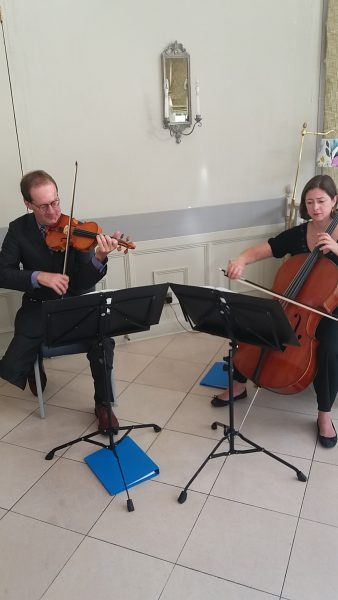 High Quality Wedding Music from wedding string duo, Manor House Music