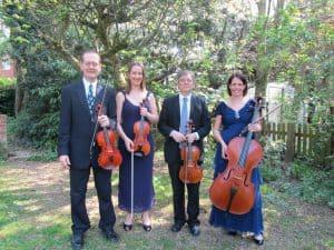 Wedding string quartet Manor House Music and Vaughan Jones